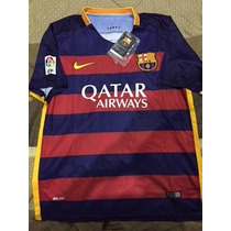 Jersey Nike Dri-fit Barcelona Local Liga Española 2015-2016