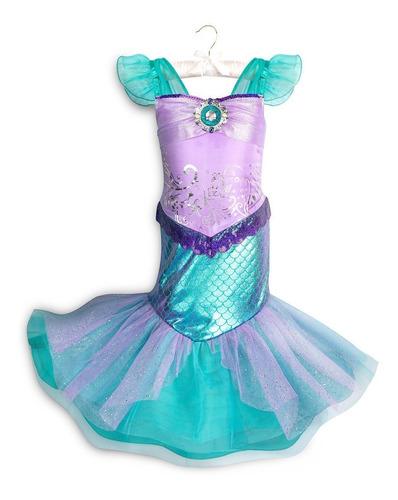 Vestido Ariel La Sirenita Disney Store 2108 En Venta En