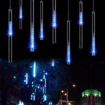 30cm Lluvia De Meteoros Luces Tubos Led Decoracion Navidad