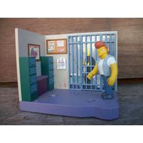 Tm.simpsons Police Station Diorama