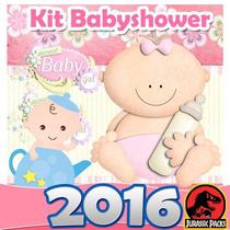 Baby Shower Kit Imprimible Babyshower Niña Niño Juegos 2016