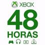 Xbox Live Gold 48 Horas - Código Se Envia Por Mensaje