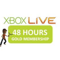 48 Horas Membresia Xbox Live Gold Prueba De Dos Dias 2