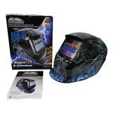 Careta Electronica Para Soldar 9 Sombras Azul Electrico