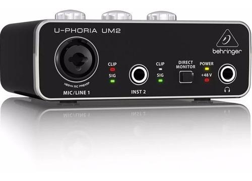 Behringer U-phoria Um-2 Interfaz De Audio Usb