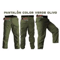 Pantalon De Bolsas Tactico Comando Policia Seguridad Militar