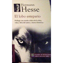 El Lobo Estepario Hermann Hesse