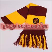 Bufanda Gryffindor Harry Potter Igo Coleccionables!!