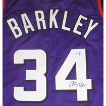 Jersey Autografiado Firmado Charles Barkley Phoenix Suns Nba