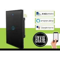 Apagador Inteligente Touch Wifi De 1 Boton  Tipo Sonoff