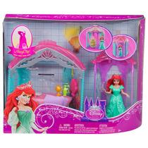 Ariel La Sirenita Castillo 2 En 1 Disney Princesas