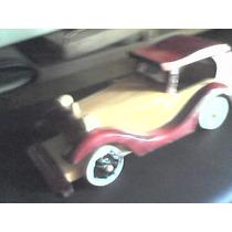 Carro De Madera Artesanal