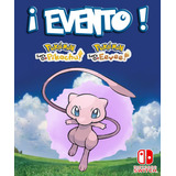 Mew / Evento Poké Ball Plus - Pokémon Let's Go Switch!