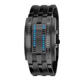 Reloj Electrónico Binario Con Luz Led A La Moda