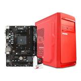 Computadora Pc Cpu Gamer Amd A6 8gb Ram 500gb Hdd Radeon R5