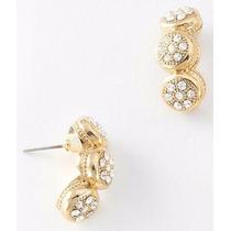 Aretes Oro 4 Baños 18k - De Lujo - Matriz Triple - Elegantes