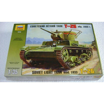 Tanque Soviet Light Tank Mod. 1933 1/35 Zvezda. Nuevo