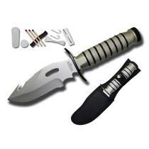 Cuchillo De Supervivencia Con Accesorios 28 Cms Sur716