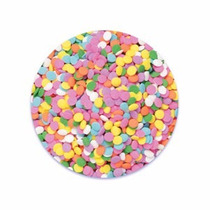 Confeti Comestible Circulos Color Pastel