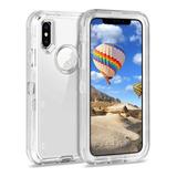 Funda Uso Rudo 360 iPhone 6 7 8 Plus X Xs Max Xr 11 Pro