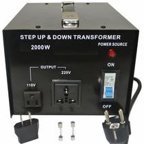 Convertidor De Voltaje Ac 110/220 V 2000 Watts Stu-n 2000