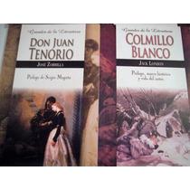 Paquete Colmillo Blanco + Don Juan Tenorio 2 Libros