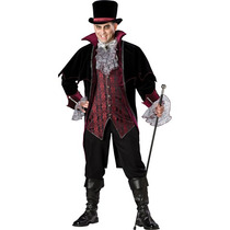 Disfraz De Vampiro De Lujo Para Adultos, Envio Gratis
