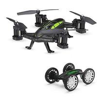 Gv602 En 4wd Coches Contr Quadcopter Gordve Rc Volador Coche De Yf7g6by