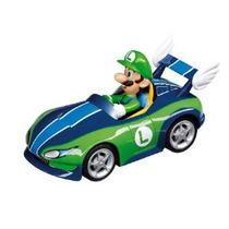 Carrera De Mario Kart Wii Wild Wing + Luigi