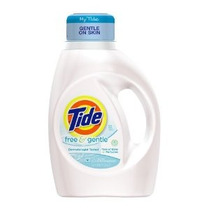 Tide Líquido Detergente De Lavandería Free & Gentle 50 Onza