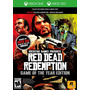 Red Dead Redemption Game Of The Year Goty - Xbox One 360