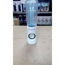 Oferta Bocina Agua Danzante Show Fuente Colores Bluetooth