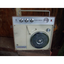 Antiguo Radio Tornamesa Para Refaccion Decoracion Reparar