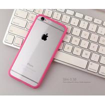 Bumper Case Tapa Cristal Transparente Iphone 6 6s Y Plus