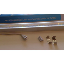Tubo Luminario De Led T8 1.20mts Con Base De Aluminio Oferta