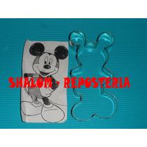 *cortador De Galletas Mickey Mouse Cuerpo ,royal, Fondant*