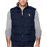 Chalecos Us Polo Assn - Quilted Corduroy Collar