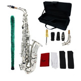 Saxofon Alto Marca Lade Plateado- Envio Mismo Día De Compra