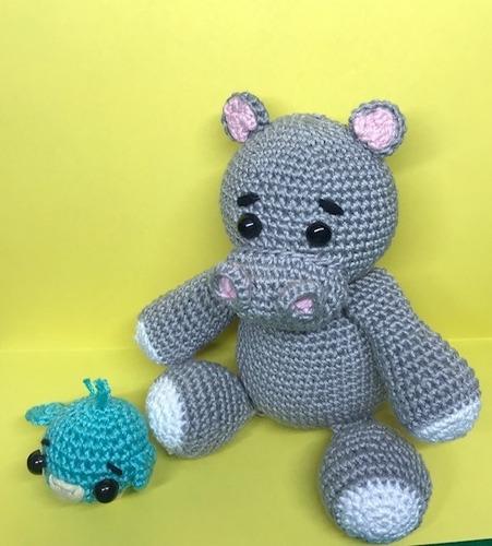 elefante multicolor tejido crochet - amigurumi | Crochet amigurumi ... | 500x451