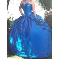 Vestido Quinceanera, Xv Años, Quinceañera, Azul Turquesa