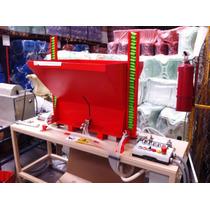 Maquina Automatica Ensamble Piezas Tubo Recogedor Escoba