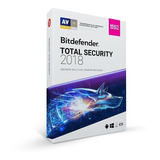 Bitdefender Total Security Multi D 2019 3pc 2años Facturado
