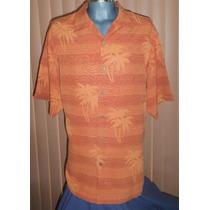 Tommy Bahama Camisa Hawaiiana 100% Seda Talla Extra Grande