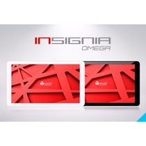 Tablet Tmovi, Insignia Omega,10.1 Hd, Android 4.4, Mem.16gb