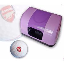 Impresora Pelota De Golf Mini Máquina Logo Para Tampografia