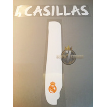 Tipografia Iker Casillas Real Madrid 13-14 Numeracion Nombre