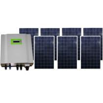 Planta Solar De Interconexión 6.7kw/día