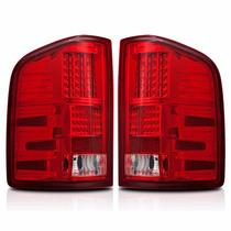 Calaveras Led Para Chevrolet Silverado 2007 - 2012