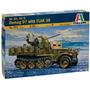 Tanque Italeri Vehiculo Militar Demag D7 1/35 Armar Y Pintar