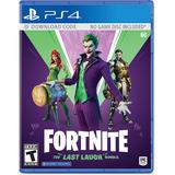 Fortnite Dc The Last Laugh Bundle - Ps4